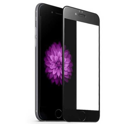 گلس تمام چسب آیفون iPhone 6 Plus مشکی